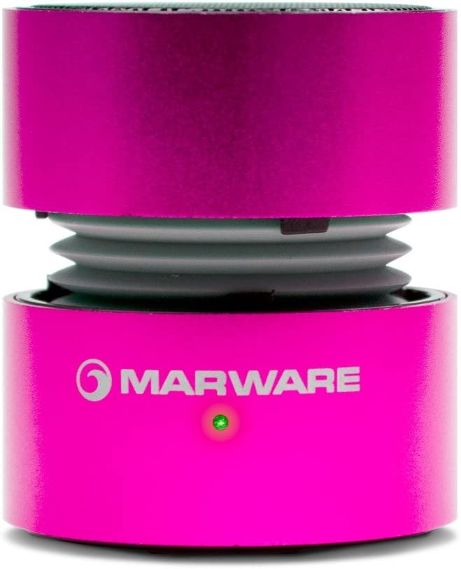 Marware UpSurge Portable Mini Kindle Speaker Pink Rechargeable Battery