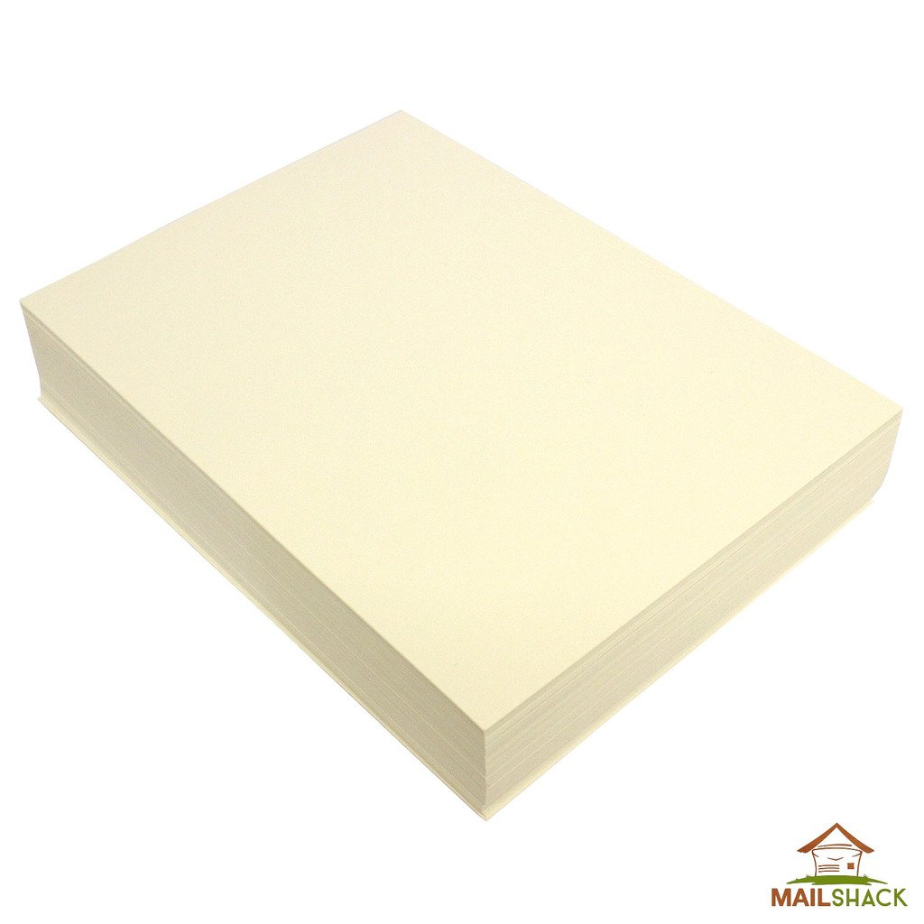 50 ZETA BRILLIANT WHITE LINEN TEXTURE A4 100GSM WATERMARKED PAPER FROM ZANDERS