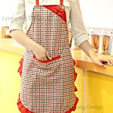 3-Pack Kitchen Fashion Apron for Women and Girls with Pockets
