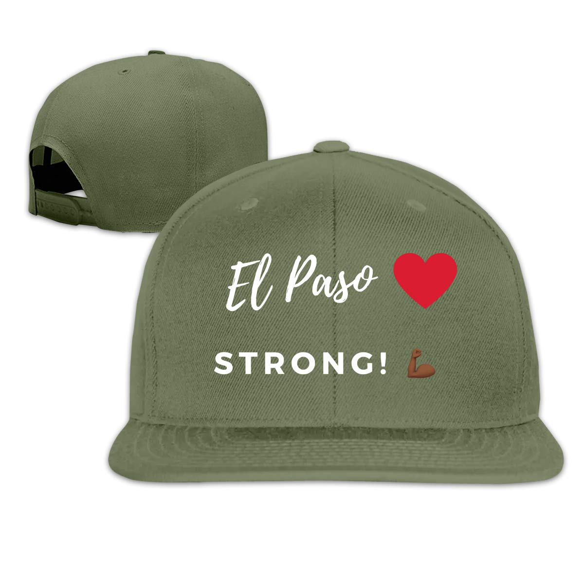 EL PASO is Strong Unisex Adult Hats Classic Baseball Caps Sports Hat Peaked Cap