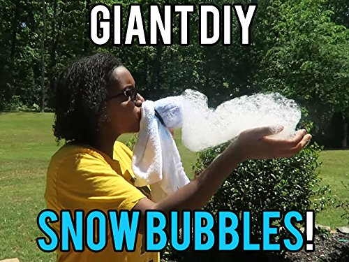 Giant Do It Yourself Snow Bubbles