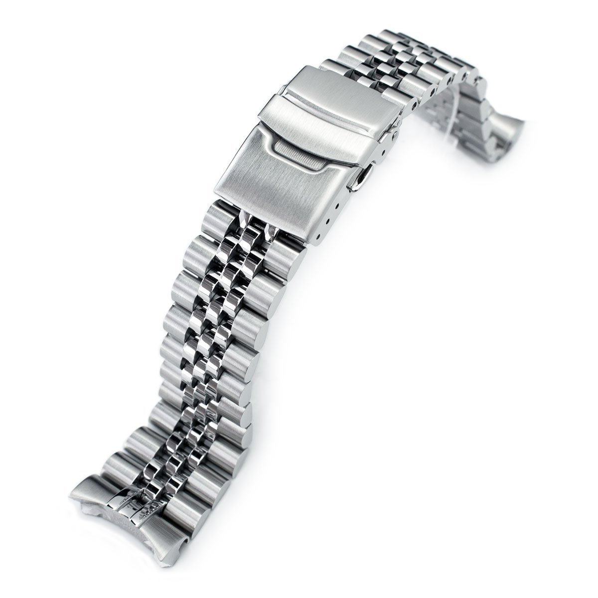 Super 3D Jubilee Replacement Bracelet for Seiko SKX007 22mm 316L-SS Watch Band by MiLTAT