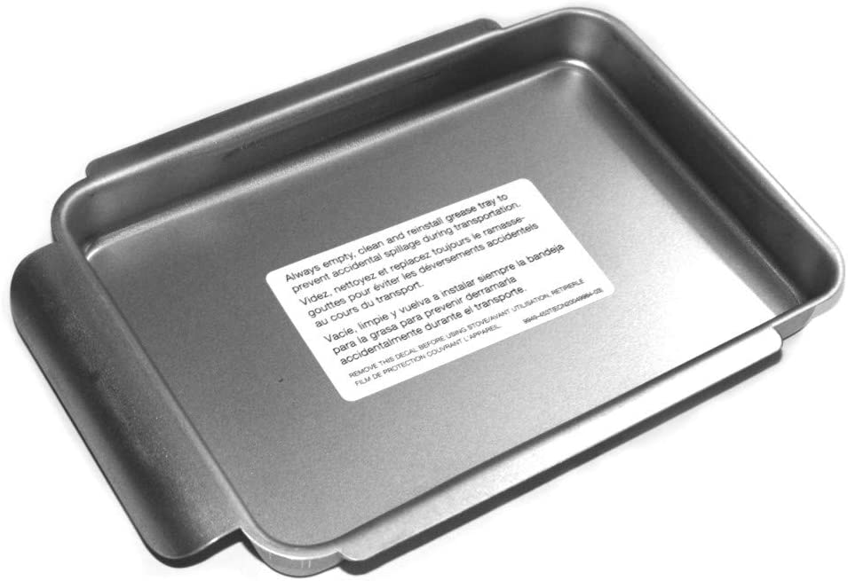 Pan Coleman Metal Grease Drip Tray for Series 9949 Roadtrip Portable Grills