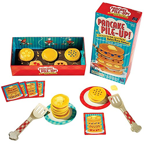 Pancake Pile-Up! game is one of the best indoor active toys for kids