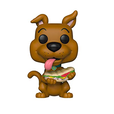 Funko Pop! Animation: Scooby Doo- with Sandwich, Multicolor: Toys & Games