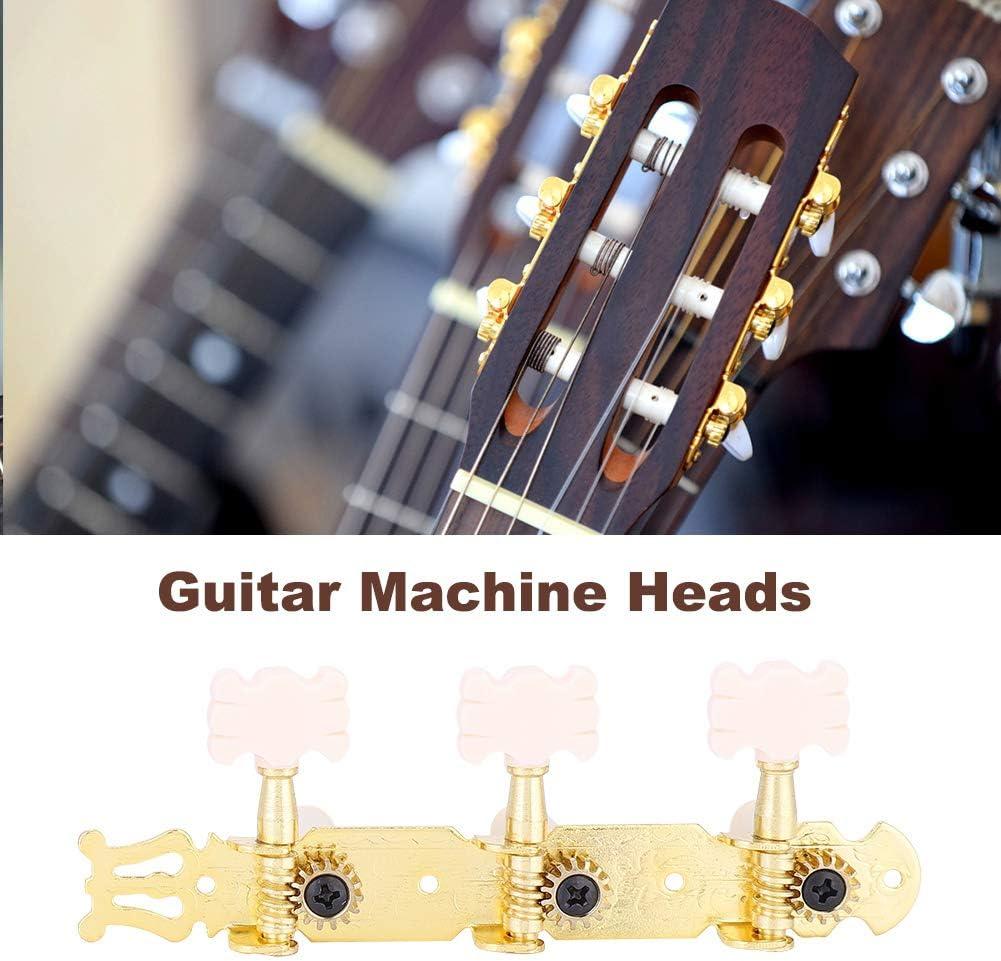 Clavijas de Afinación de Guitarra, 3L3R Clavijas de Afinación de ...