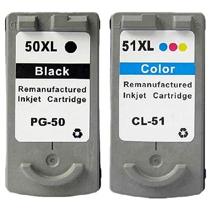 Cartuchos de Tinta de Repuesto para Canon Pixma MP460 MX300 MX310 ...