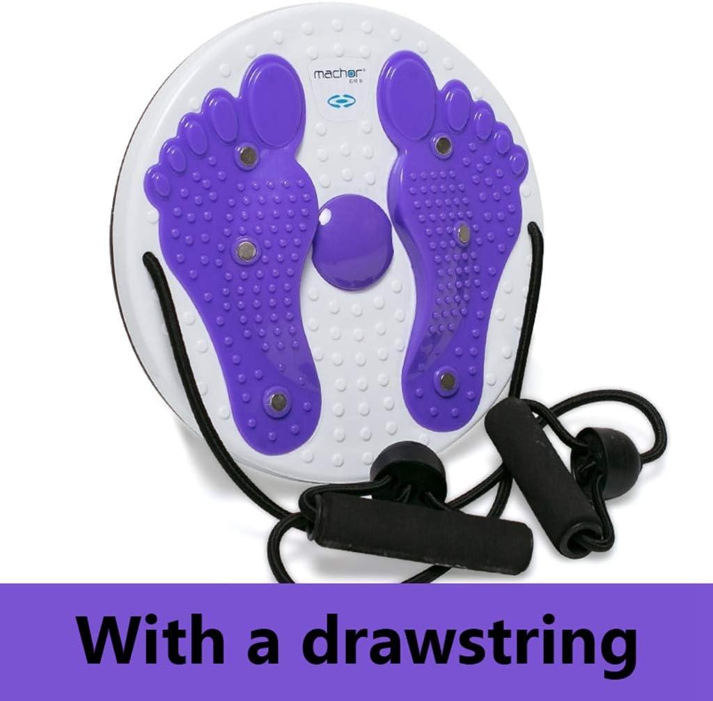 JSZXC Imán Cintura Placa de retorcimiento Fitness Disco de torsión Dispositivo de Tornado Grande Máquina de masajeador de pies Adelgazamiento Herramienta de Deportes para el hogar para Mujeres