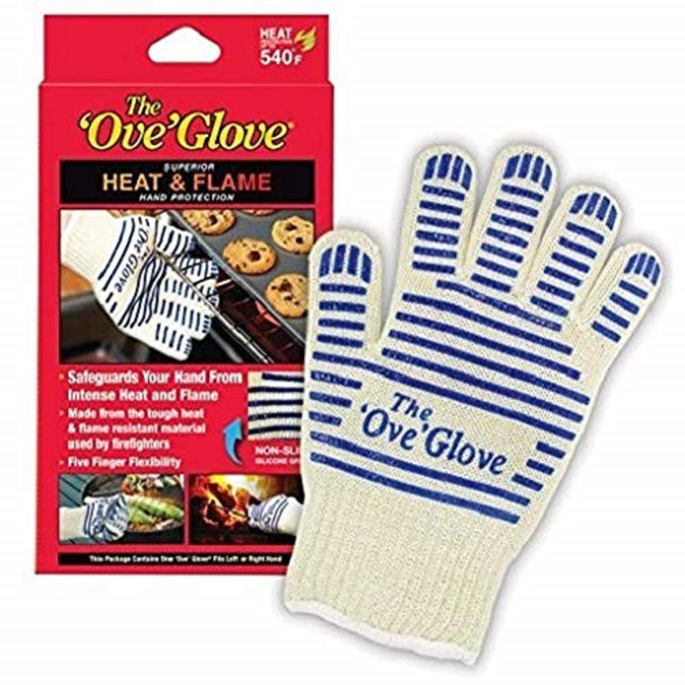 Ove' Glove, Heat Resistant, Hot Surface Handler Oven Mitt/Grilling Glove, Perfect For Kitchen/Grilling, 540 Degree Resistance, As Seen On TV Household Gift by Ove Glove (Image #1)