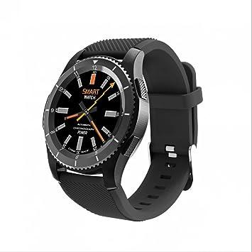Reloj De Pulsera Smartwatch Pulso Reloj Podómetro Dormir Análisis Tensiómetro de recuerdo sentada Apoyo TF tarjeta SIM para iOS Android Teléfono Móvil: ...