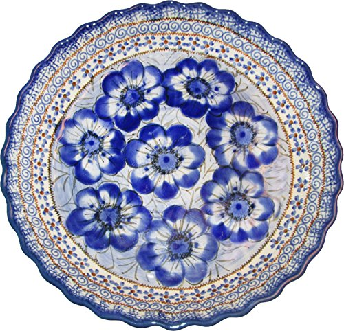 Polish Pottery Pie Plate or Quiche Baker - Eva's Collection