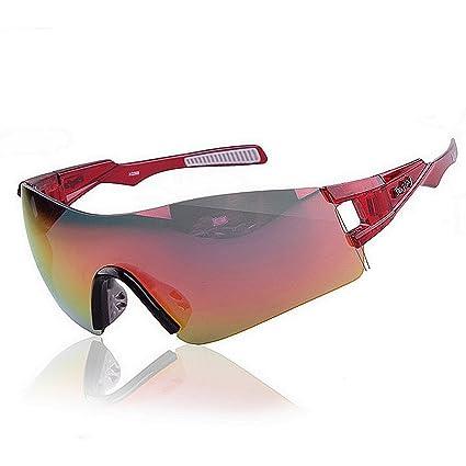 Aihifly Sombrillas Deportivas Gafas de Sol polarizadas de Gran tamaño Hombres Mujeres Lente TAC para el
