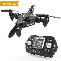 TENKER – Mini Drone Skyracer, Elicottero RC per Ragazzi, Quadrirotore con Altitude Hold, Acrobazie 3D, Headless Mode e Decollo/Atterraggio con un Tasto, la Scelta Migliore per Principianti