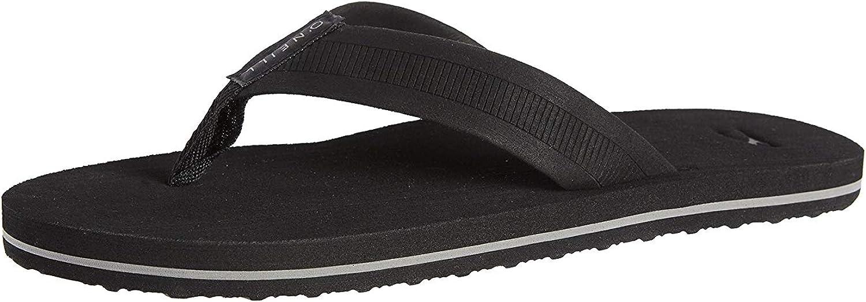 O'NEILL Faux Leather Flip Flop Sandal