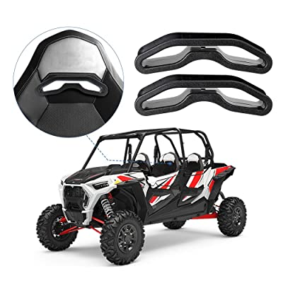 kemimoto utv harness pass-through bezel, Seat Belt Pass Through Bezel Insert for Polaris RZR XP1000 900 S XC General: Automotive
