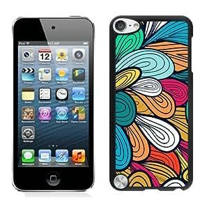 high quality illustration Classic Flowers Design Unique iPod touch 5 Case Black Cover