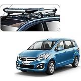 Auto Pearl - Premium Quality Alluminium Car Roof Quest Luggage Carrier 4x4 Silver For - Maruti Suzuki Ertiga 2016