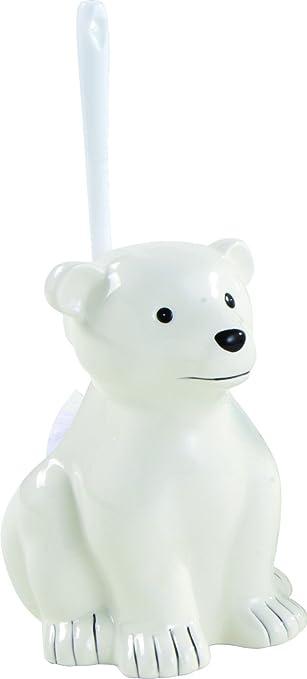 Sanwood 1141126 Zoo Wc Bürstengarnitur Eisbär Aus Keramik Amazonde