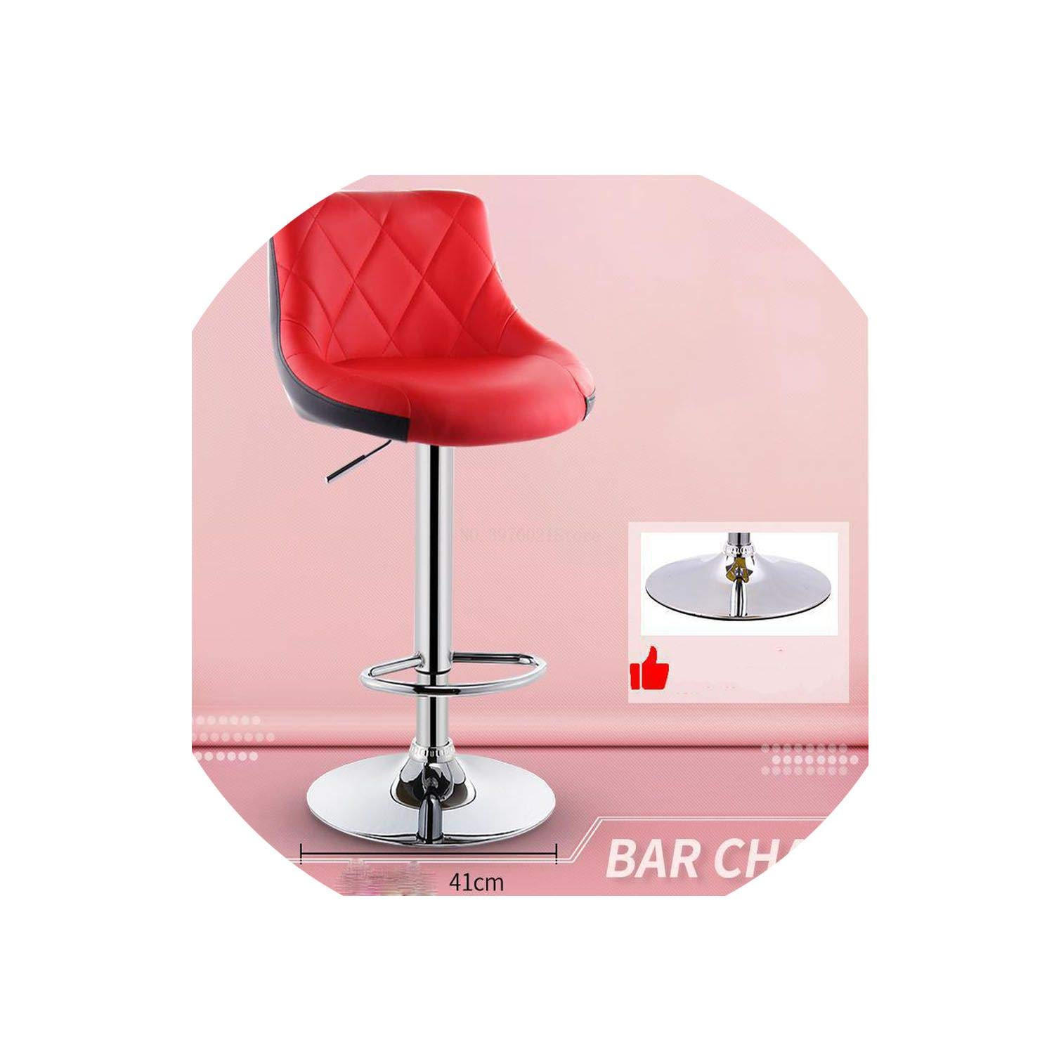 14 one size Bar Stool Lift redating Bar Chair Cash Register High Stool Home Beauty Front Back Stool,13