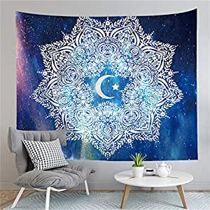 CYYCY Tapiz de Mandala Colorido Colgante de Pared Decoración ...