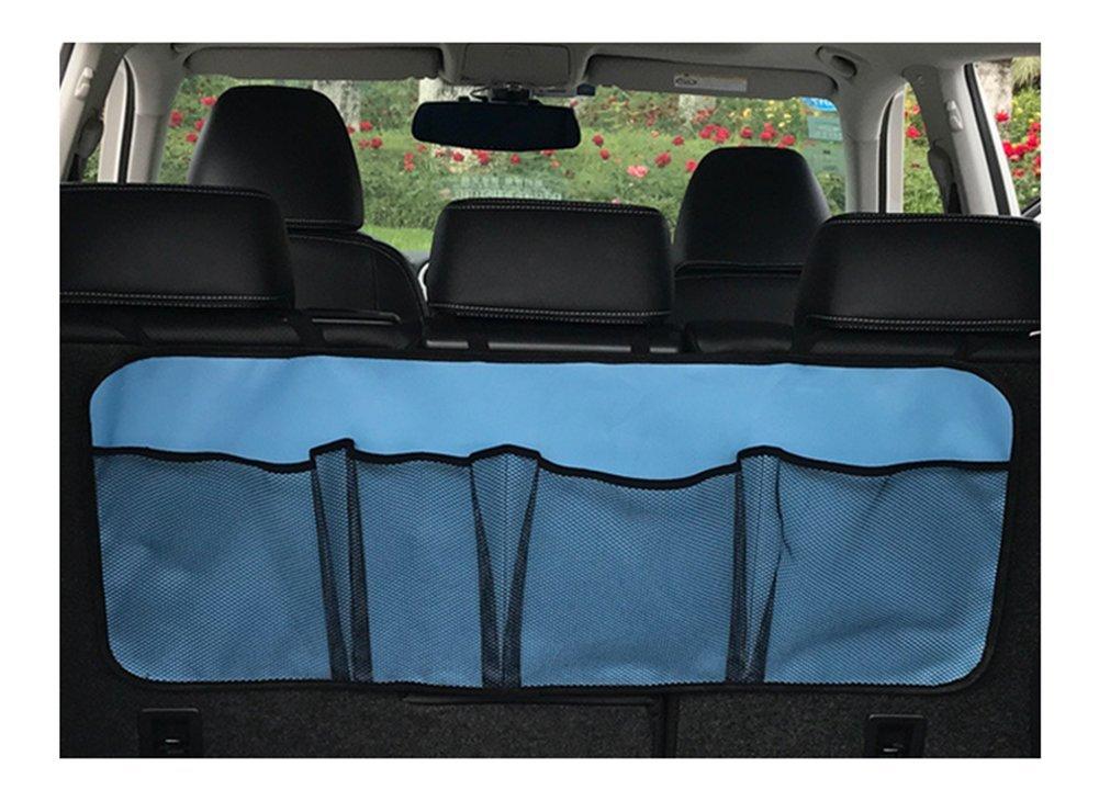 Toruiwa 1x auto Storage Bag sedile posteriore portaoggetti da appendere borsa organizer grande capacità di tasca in rete per bagagliaio per Sundries accessori auto
