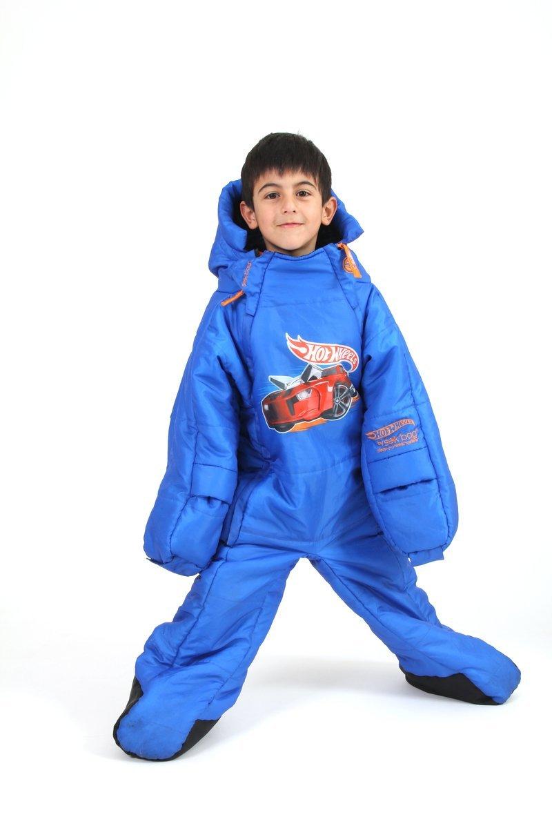 Saco de dormir Hot Wheels SelkBag para niño - 7-9 años: Amazon.es: Deportes y aire libre