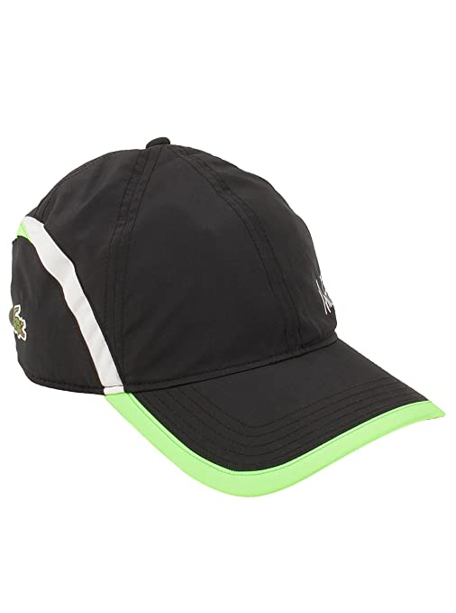 c1c8b479 Lacoste Newest Men's Green Croc Poly Andy Roddick Cap in Black RK4386:  Amazon.in: Sports, Fitness & Outdoors