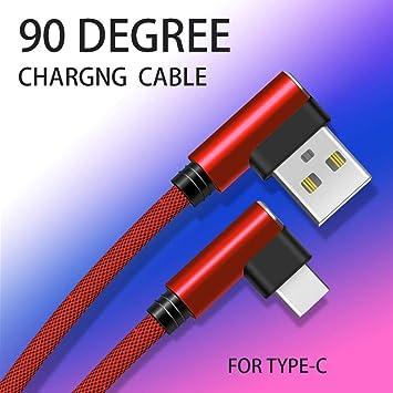 Cable Fast Carga 90 ° Tipo C para Mando Nintendo Switch Pro ...