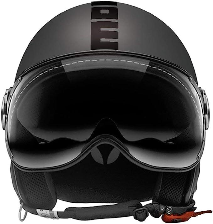 Momo Design Momo Helm Fighter Fgtr Evo Titan Matt Doppel Visier Größe Ml Grau Ml 58 10010030295 Auto