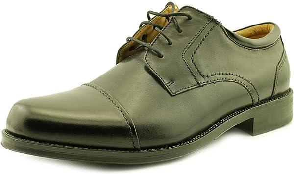Chaps Black Belmont Wide Dress Shoes