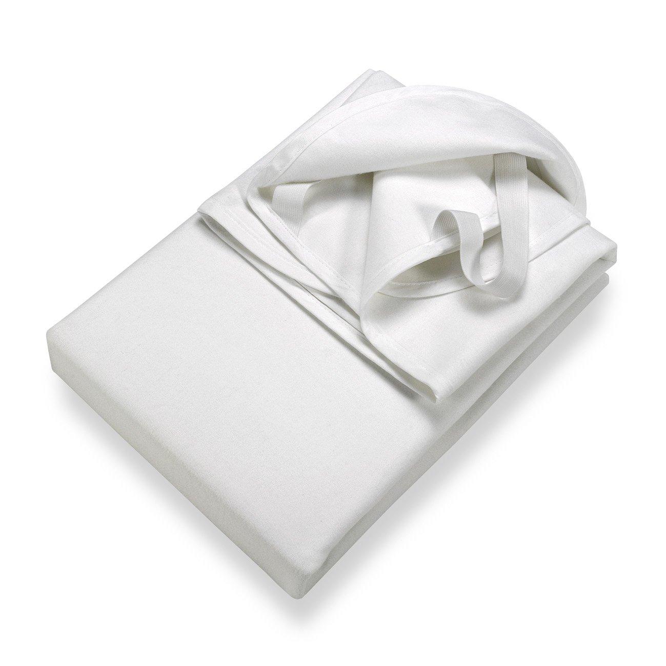 SETEX Protège matelas en molleton, étanche pour lit d'enfant, 40 x 50 cm, Junior, Blanc, 14U2 040050 025 002 14U2 040050 025 002 (SE0)