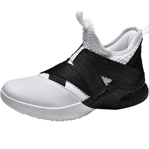 Zapatillas de baloncesto para hombre, Zapatillas antideslizantes ...