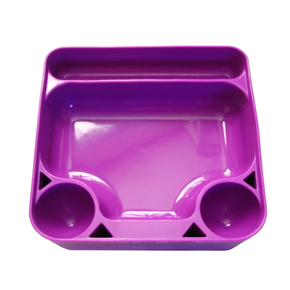 Silicone Tray for Sticky Waxes, Oils and related Tools (Purple, 1) by Dab Dude