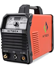 """HITBOX Plasma Cutter CT4500 40 Amp 1/2"""" Clean Cut 220V Inverter Air Gas Compact Metal Plasma Cutting Machine with PT31 Torch Ready to Use"""