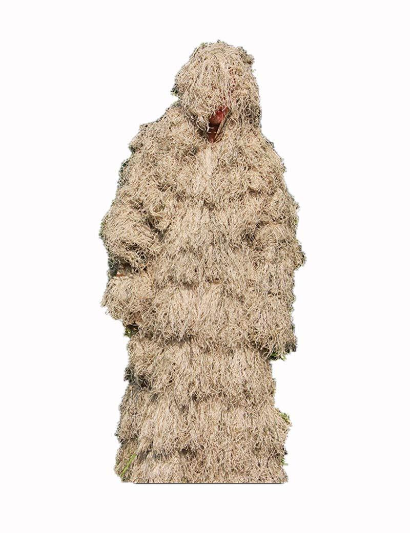 Poser Ghillie Suit Camuflaje Desierto 3D Camuflaje Woodland Caza ...
