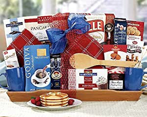 Romantic Breakfast - Gift Basket for Men -OR- Valentines Day Gift Basket for Boyfriend, Husband For Him.