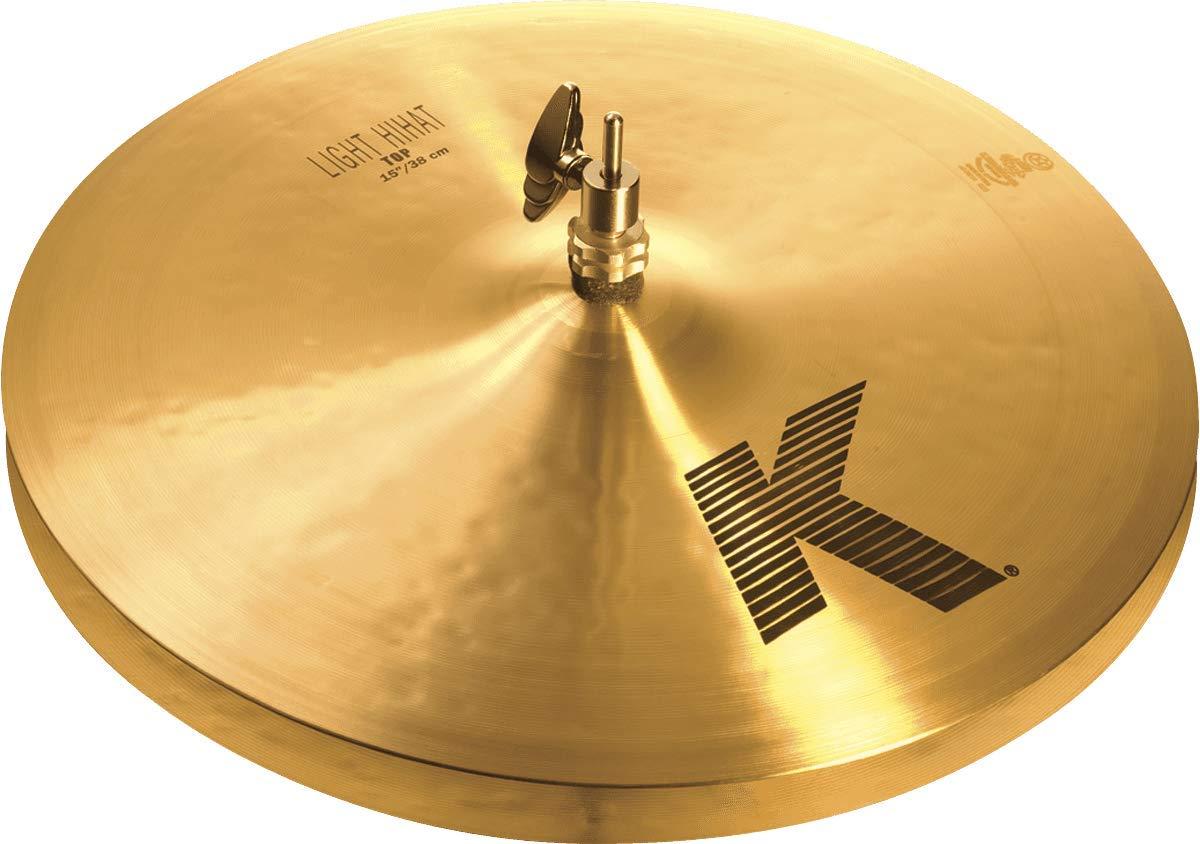 Zildjian K 15'' Light Hi Hat Cymbals Pair by Avedis Zildjian Company