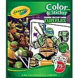 Crayola Teenage Mutant Ninja Turtles Color 'n Sticker Books