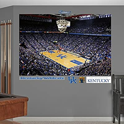 NCAA Kentucky Wildcats Rupp Arena Corner View Basketball Mural Wall Graphic