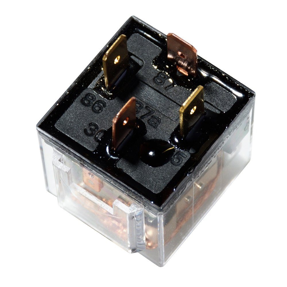 Pack of 5 Ehdis DC 12V 60A 1NO SPST 4 Pin Relay Car Heavy Duty Split Charge Waterproof Transparent Case