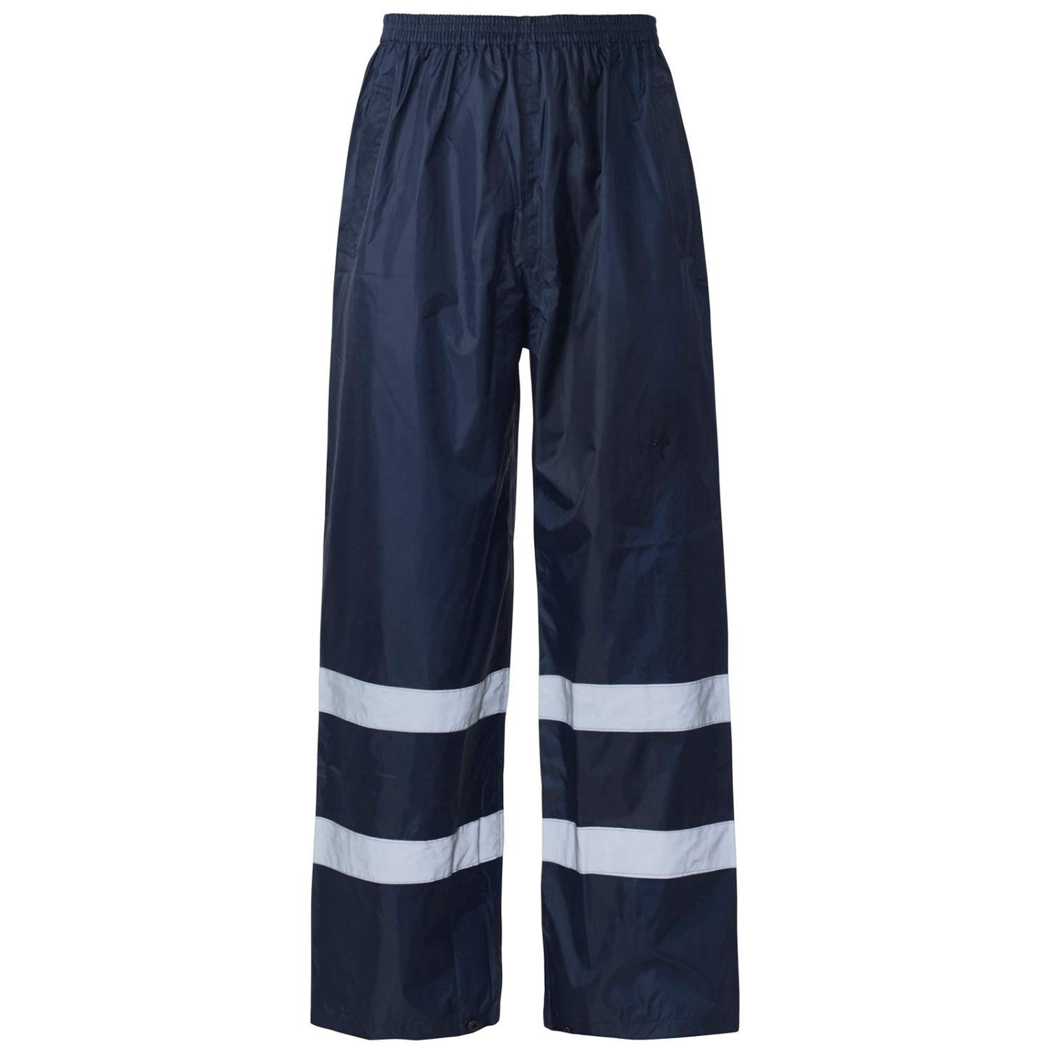 Waterproof Pant Size S REFELECTIVE Safety Work WEAR 100/% Polyester 5XL Style spot HI VIS Visibility VIZ Over Trousers