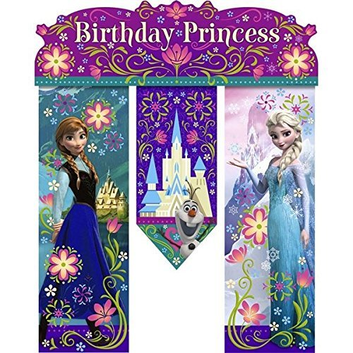 Brand New Disney Frozen Banner with Queen Elsa and for sale  Delivered anywhere in USA