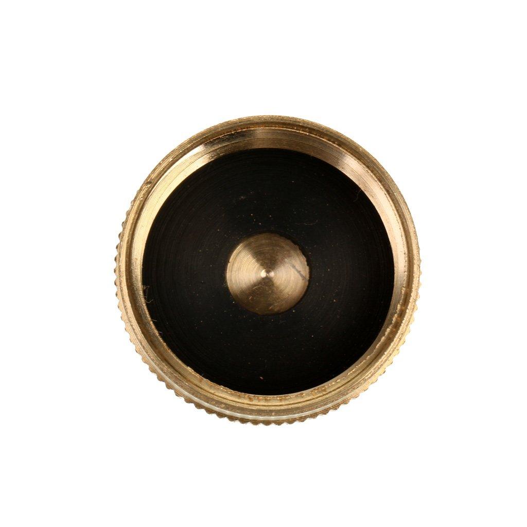 Sharplace Messing Schutzkappe f/ür 1 LB Propangasflaschen Propangasflasche Deckel Gasbeh/älter Kappe