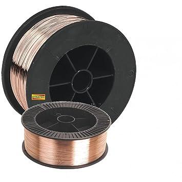Mig Welding Wire Spool 5kg 1.0mm 1mm 5 Kilo Reel Gas Mild Steel ...