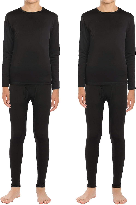 Pack of 2 Mens Thermal Short Sleeve Top Warm Underwear Baselayer Heat Cotton ski Winter