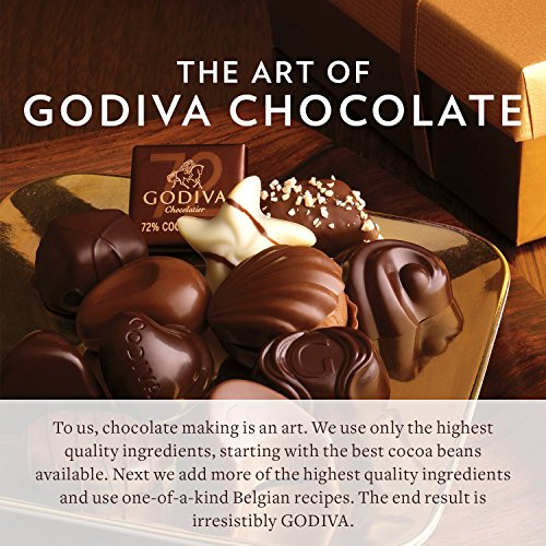 Godiva Chocolatier 36 Individually Packaged, 2-Piece Belgian Chocolate Gold Ballotins, Perfect for Bridal Showers - Parties - Wedding Favors by GODIVA Chocolatier (Image #2)