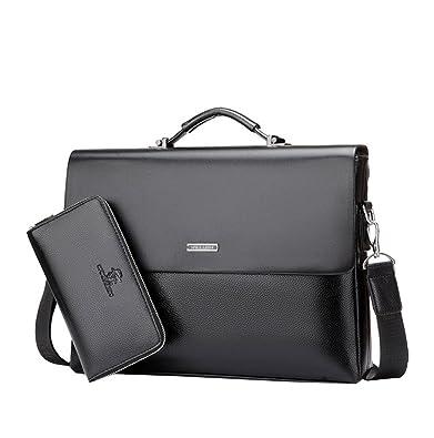 2545bf20b12 Mioy élégant Sac à Bandoulière en Cuir Pour Homme Décontracté Messenger Bag Sac  à main d