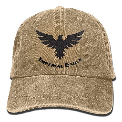 Golf Hat Imperial (Fr45 Caps Imperial Eagle Men's Sport Adjustable Cowboy Cap)