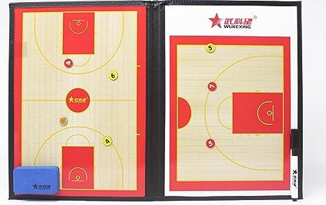 Fútbol Baloncesto entrenador entrenamiento de tablero táctica ...