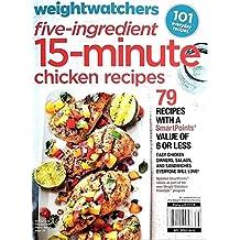 Weight Watchers Five Ingredient Magazine 15 Minute Chicken Recipes 2018